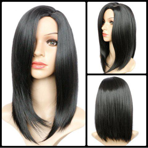 Outfits Impressive Medium Side Parting Straight Synthetic Wig