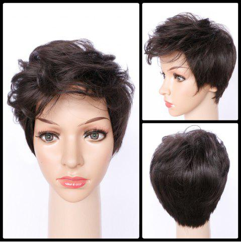 New Spiffy Ultrashort Curly Synthetic Wig