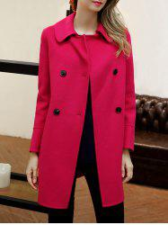 Double Breasted Cashmere Coat -