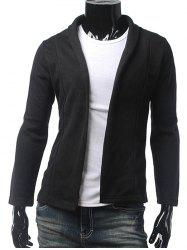 Slim Fit col châle Cardigan -