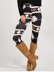 Stretchy Patterned Leggings -