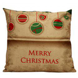 Christmas Hangers Cushion Home Office Pillow Cover