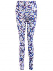 Ornate Printed Stretchy Leggings -