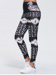 Printed Stretchy Gym Leggings