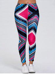 Tribal Print Slimming Leggings
