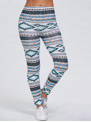Tribal Print Stretchy Leggings