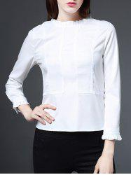 Ruffled Blouse -