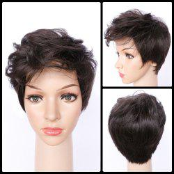 Spiffy Ultrashort Curly Synthetic Wig