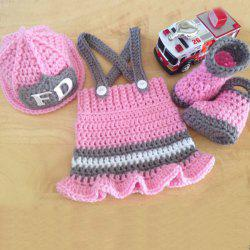 Newborn Baby Crochet Photography Prop Clothes Set