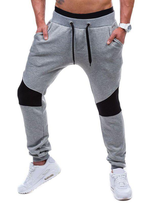Unique Drawstring Waist Insert Jogger Pants