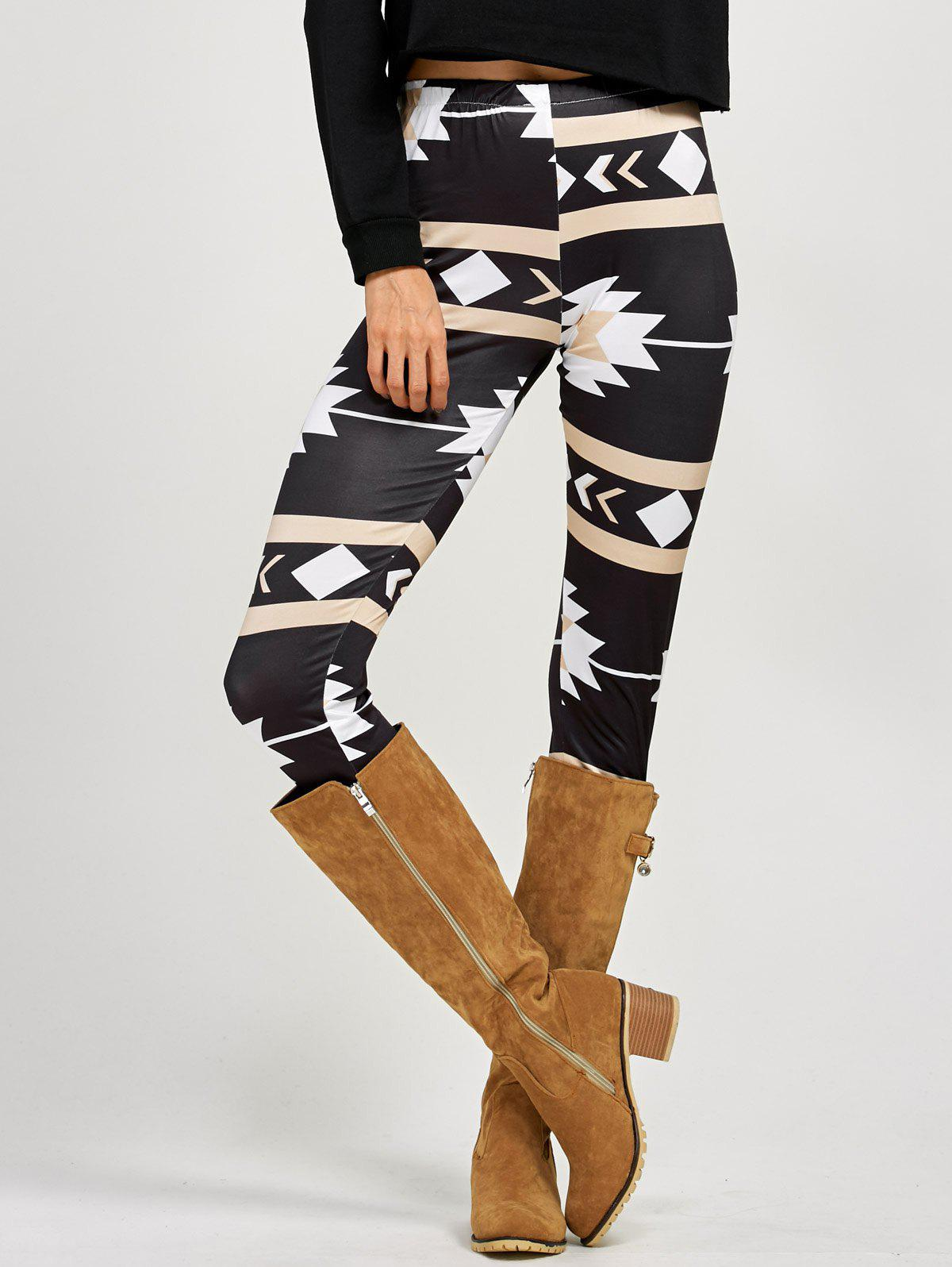 Affordable Stretchy Patterned Leggings