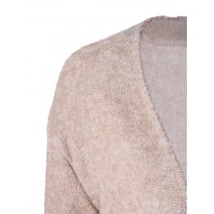 Open Front Pocket Cardigan -