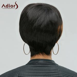 Adiors Hair Mixedcolor Synthetic Side Bang Short Wig - COLORMIX