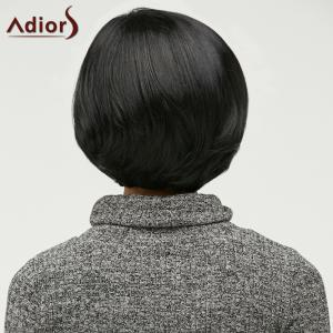 Short Side Bang Fluffy Capless Synthetic Wig -