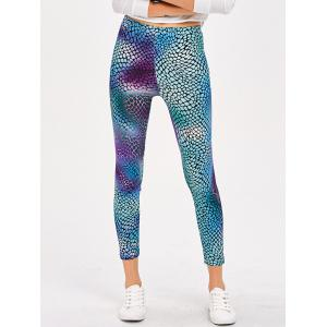 Printed Slimming Stretchy Leggings