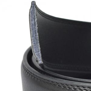Automatic Buckle PU Leather Wide Belt -