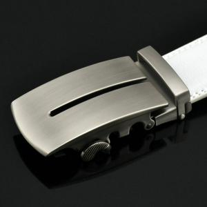 Letter U Automatic Buckle PU Belt -