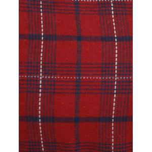 Plus Size Plaid Pinafore Dress -