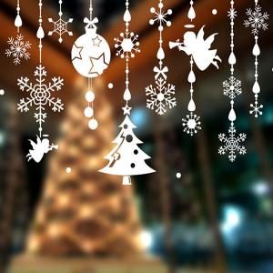 Removable DIY Pendants Christmas Window Wall Stickers