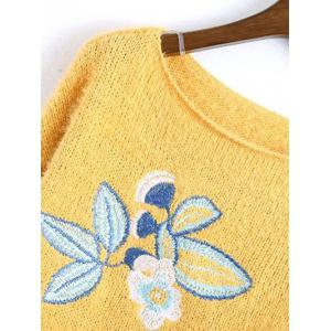 Embroidered Relaxed Sweater -