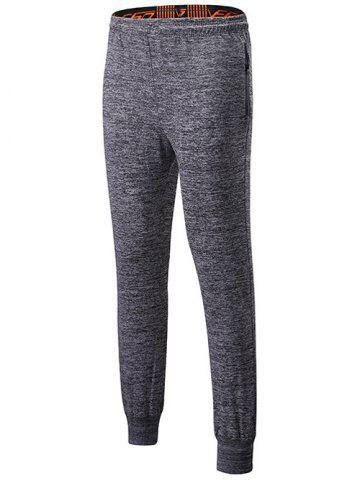 Latest Lace-Up Sports Pants with Zip
