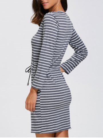Shop Double Pocket Stripe Dress