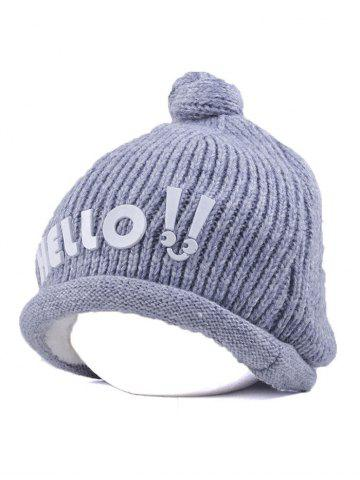 Shops Winter Hello Embellished Chunky Knitted Hat