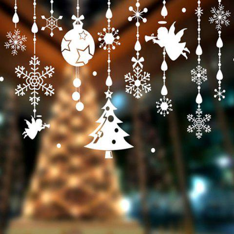 Sale Removable DIY Pendants Christmas Window Wall Stickers