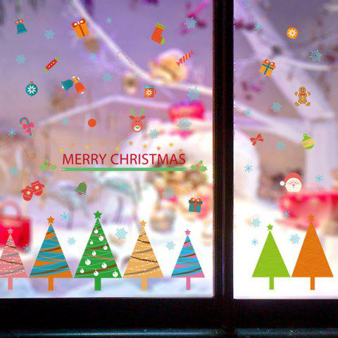 Latest Christmas Removable DIY Room Decor Wall Stickers COLORFUL