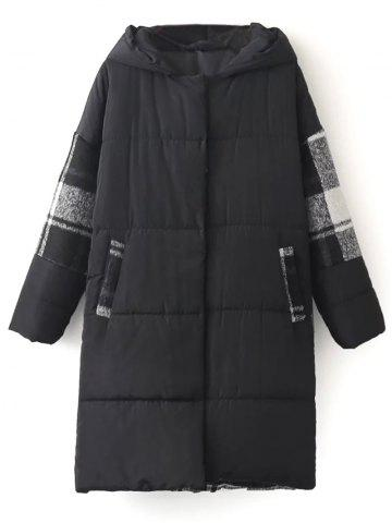 Padded Winter Coat - Black - One Size