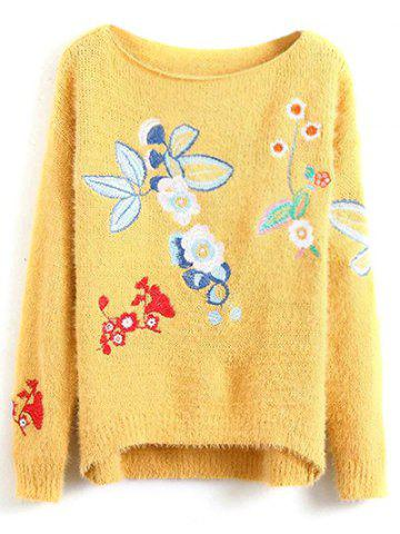 Buy Embroidered Relaxed Sweater