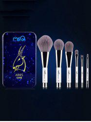 Aries 6 Pcs Magnetic Makeup Brushes Kit