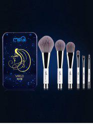 Virgo 6 Pcs Magnetic Makeup Brushes Kit