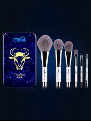 Taurus 6 Pcs Magnetic Makeup Brushes Kit