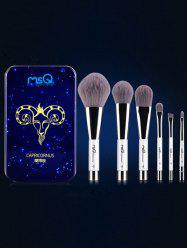 Capricornus 6 Pcs Magnetic Makeup Brushes Kit