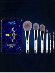 Sagittarius 6 Pcs Magnetic Makeup Brushes Kit