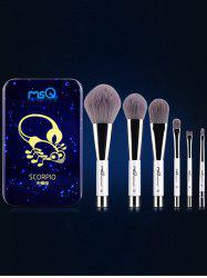Scorpio 6 Pcs Magnetic Makeup Brushes Kit