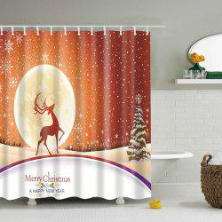 Merry Christmas Bathroom Decor Shower Curtain