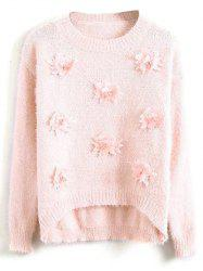 Floral Applique Sweater