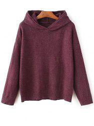 Hooded Long Sleeve Sweater