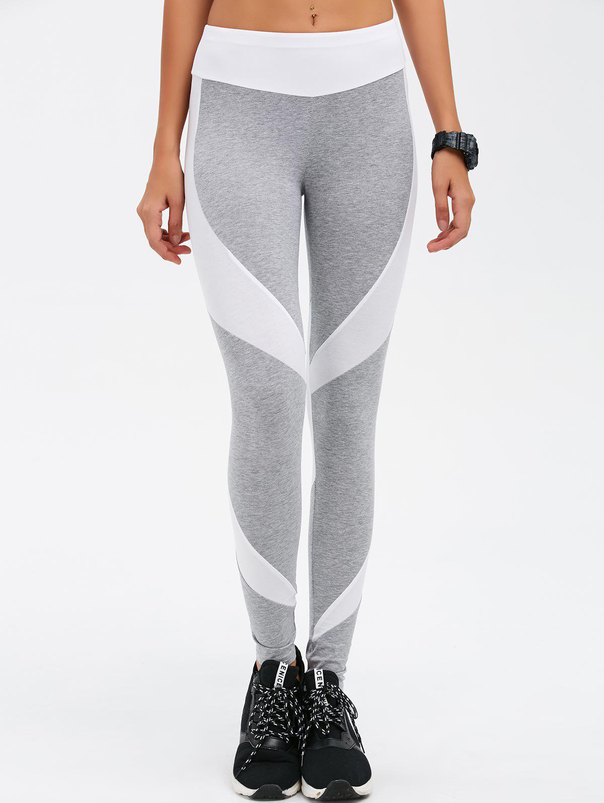 Outfits Stretchy Contrast Athletic Pants