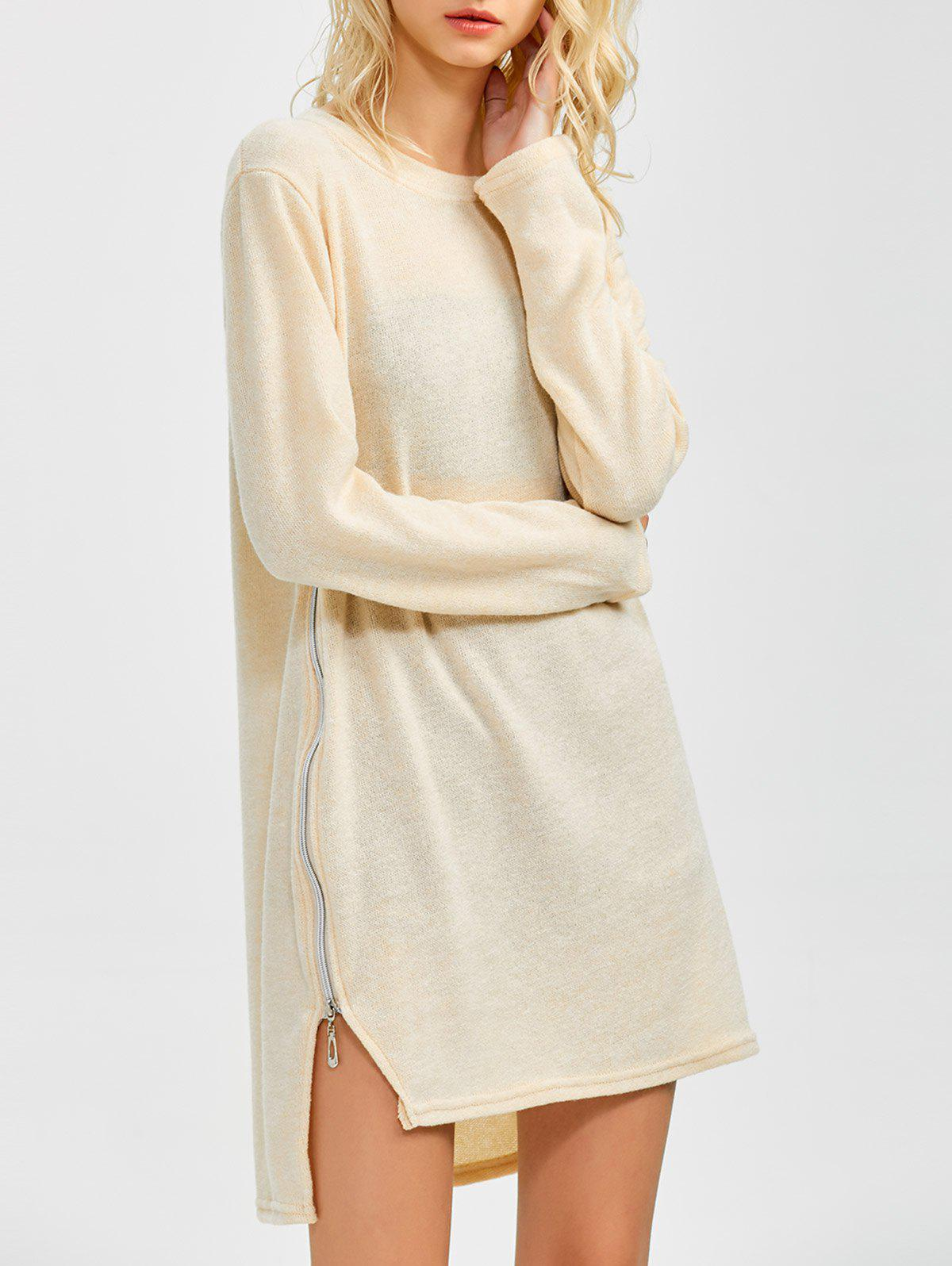 Outfit Zipped Tunic Jumper Dress
