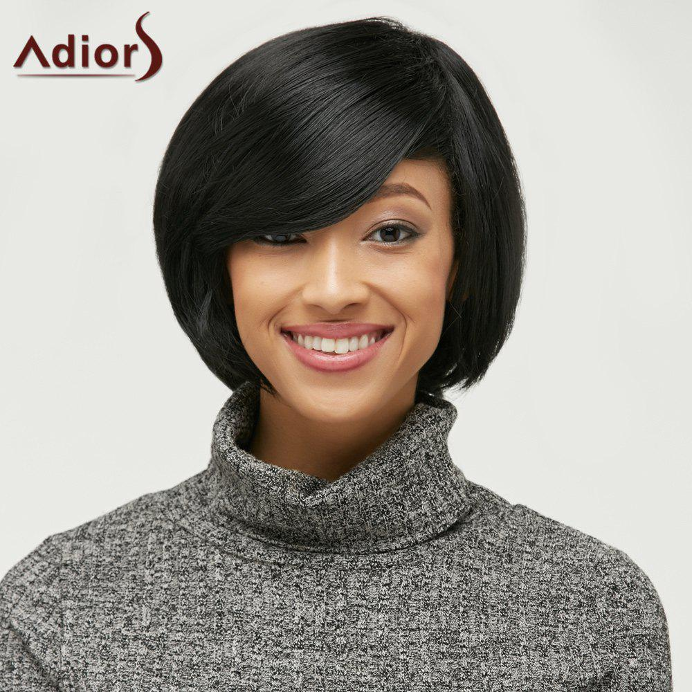 Store Short Side Bang Fluffy Capless Synthetic Wig