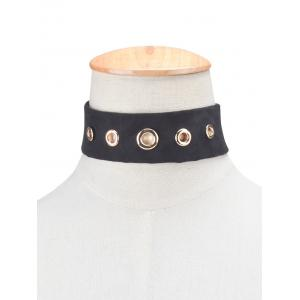 Rivet Suede Choker Necklace