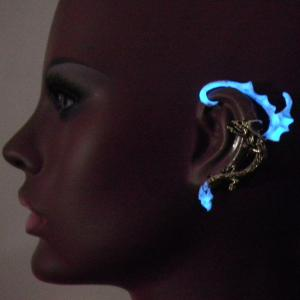 Retro Noctilucence Dragon Wing Ear Cuff