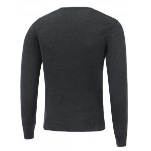 Long Sleeve V Neck Now Sweater -