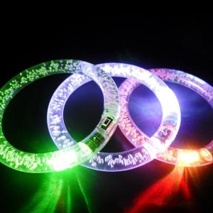 3PCS Color Changing Flashing Bracelet Christmas Decoration Supplies - COLORFUL