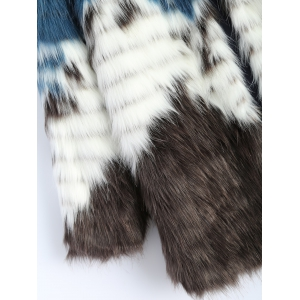 Faux Fur Coat -