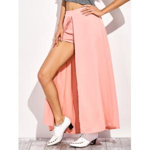 Casual Maxi Skirt Culottes Shorts