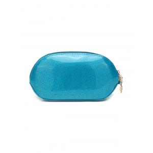 Zip Around Patent Leather Wristlet -